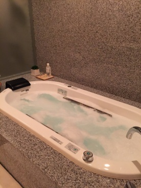 like no other hotel jacuzzi I've ever been in!