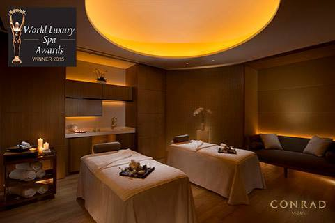 the Korea World Luxury spa award winner.